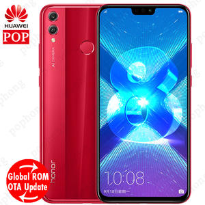 Huawei Honor 8X Mobile Phone 6.5 inch Screen 3750 mAh Battery Android 8.2 Dual Back