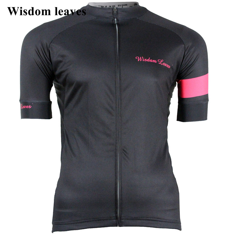 Wisdom Leaves 2019 Men Sport cycling jersey t shirt roupa roupa bike Women maillot ciclismo equipos Team cycling clothing OEM-in Cycling Jerseys from Sports & Entertainment    1