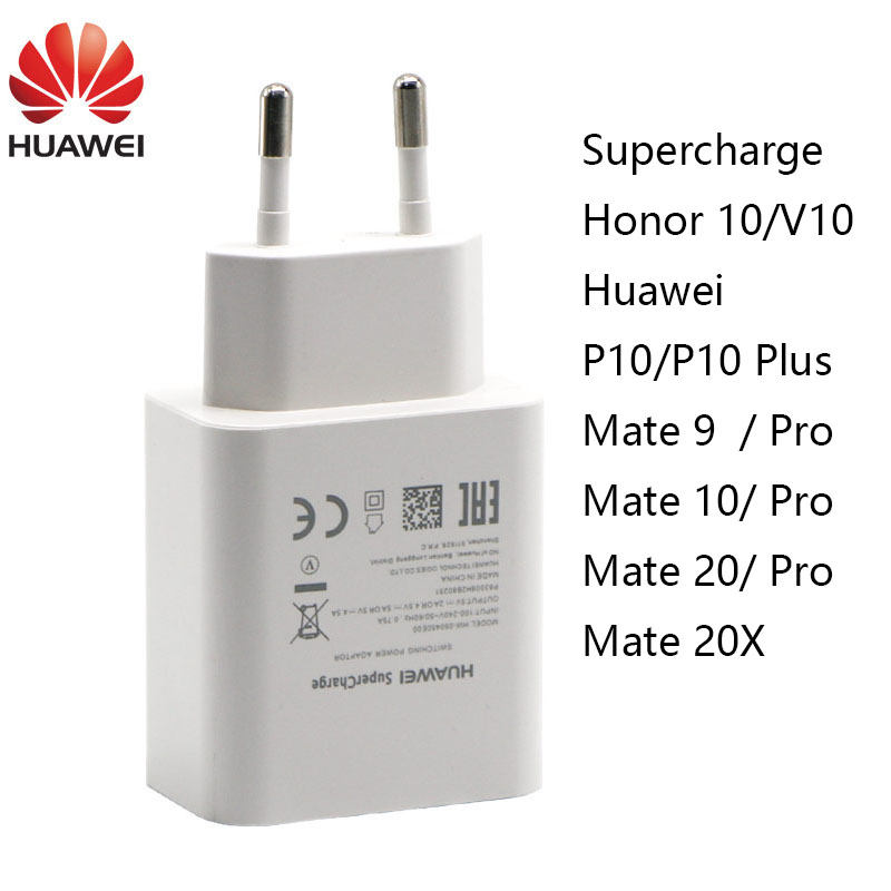Originale Huawei Mate 9 10 20 P10 Più P20 Pro Honor V10 Sovralimentare Veloce Veloce Super Charger 4.5V5A Tipo- C USB 3.0 Tipo di Cavo C
