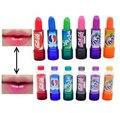 Novas das Mulheres de Moda Mudam de Cor de Maquiagem Hidratante perfume Fraco de Coca-cola doce bonito Lip Balm Brilho Cola Batom 6 Cores
