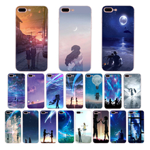 IMIDO Soft silicone phone case for iphone X XS XR XSMAX 8/7/6s/6plus 5s 6s se 5 6 7 8 Lovers in a romantic starry sky TPU shell нож поварской tojiro flash 160 мм сталь vg 10