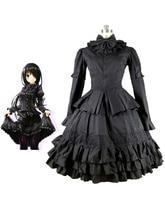 Fecha A Live Tokisaki Kurumi Cosplay Disfraces de Halloween Gothic Lolita Vestido