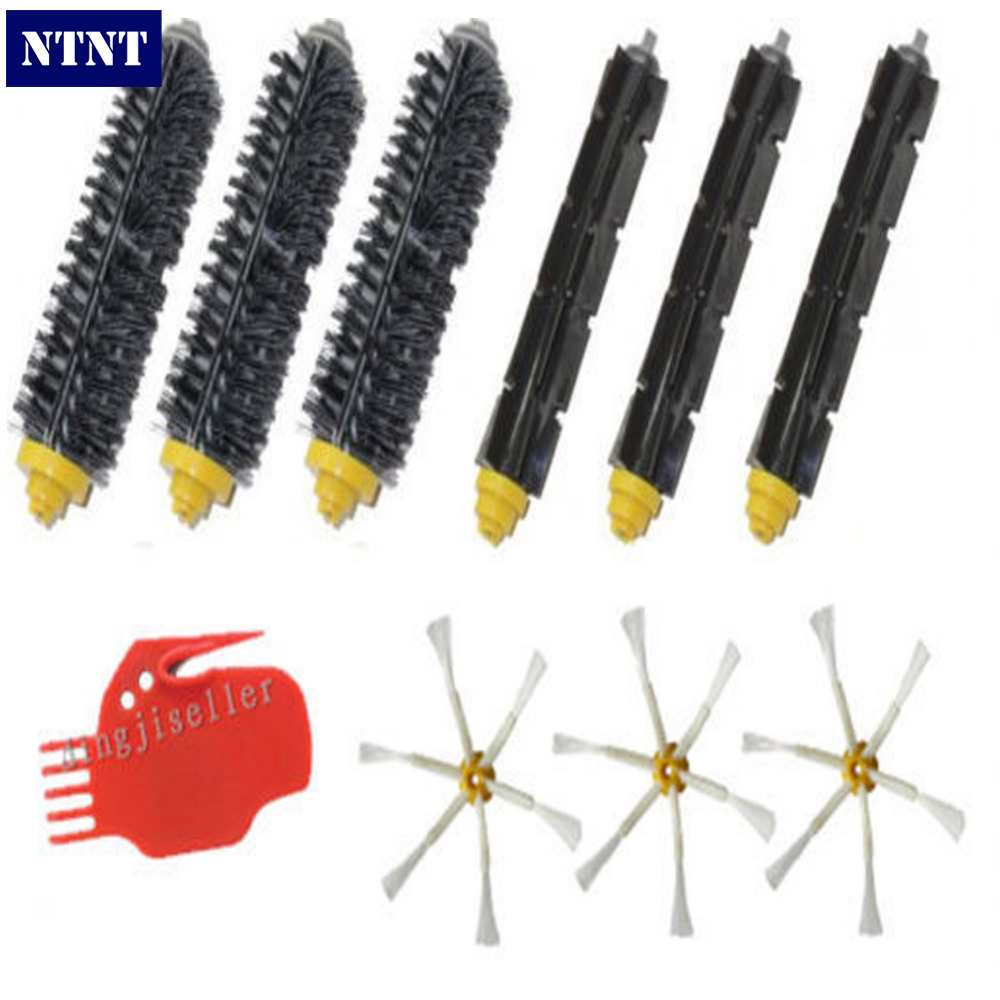 NTNT Free Post New Brush Cleaning Tool Kit 6 Armed Side for iRobot Roomba 700 Series 760 770 780 vacuum cleaning kit attachement kit dusting dusting brush nozzle crevices tool upholster tool for 32mm