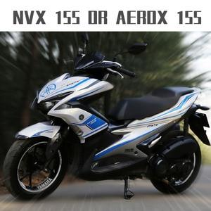 Image 2 - Motocykl samochód cały samochód kwiat ciągnięcie naklejki ciała dla Yamaha NVX AEROX 155