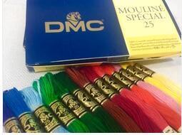 oneroom 447 Pieces Original French DMC Thread  Embroidery Cross Stitch Floss Yarn Thread Best Quality  100% Cotton