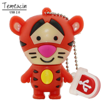 Pig Tiger Donkey USB Flash Drive PenDrive 4GB 8GB 16GB 32GB Memory Stick
