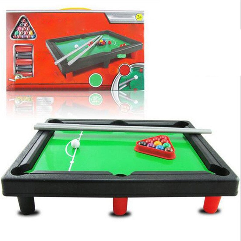 Childrens Billiards toy Pool Table Parent-child Toy Mini Kidss Billiards Sports Toy in American Style Indoor Sports