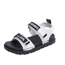 Sports sandals girls thick bottom 2019 wild casual fashion men and women big children's beach shoes