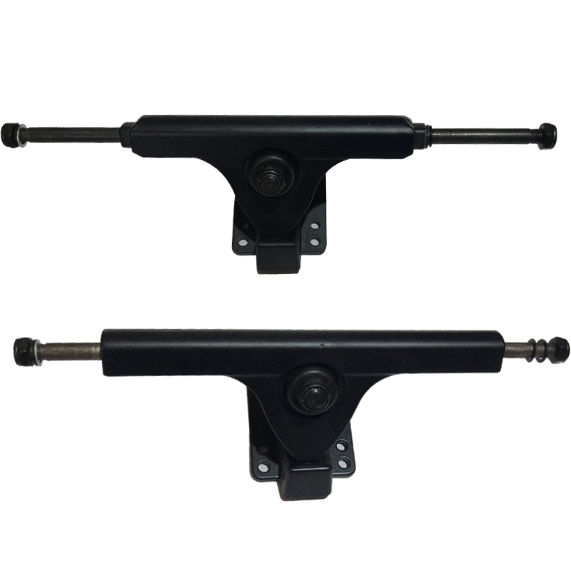 1 unid 70/83/90mm Motor de camión 251/271mm Dual Skateboard 7