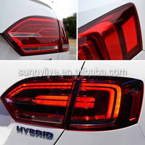 Pro VW New Jetta vedené zadní světlo 2012 Red TC