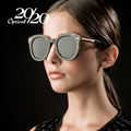 20/20 Brand Vintage Round Polarized Sunglasses Women Designer Eyewear Female Driving Retro Sun Glasses Women Sunglass 6589