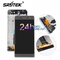 ORIGINAL 6 0 TFT LCD For SONY Xperia C6 XA Ultra LCD Display F3211 F3212 Touch