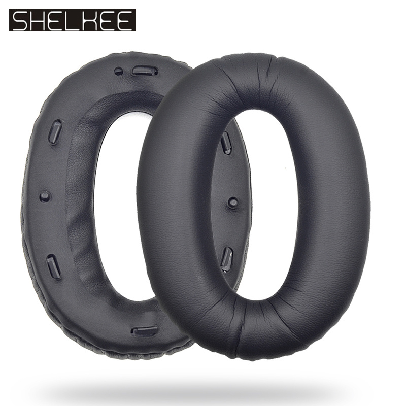 SHELKEE Replacement Ear Pad Cushion Cups Ear Cover Earpads For Sony MDR-1000X 1000XM2 Headphones Repair parts