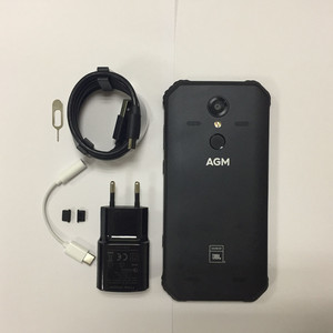 """Image 4 - AGM A9 JBL 共同ブランディング 5.99 """"4 グラム + 32 グラムアンドロイド 8.1 頑丈な電話 5400mAh IP68 防水スマートフォンクアッドコアボックススピーカー NFC"""