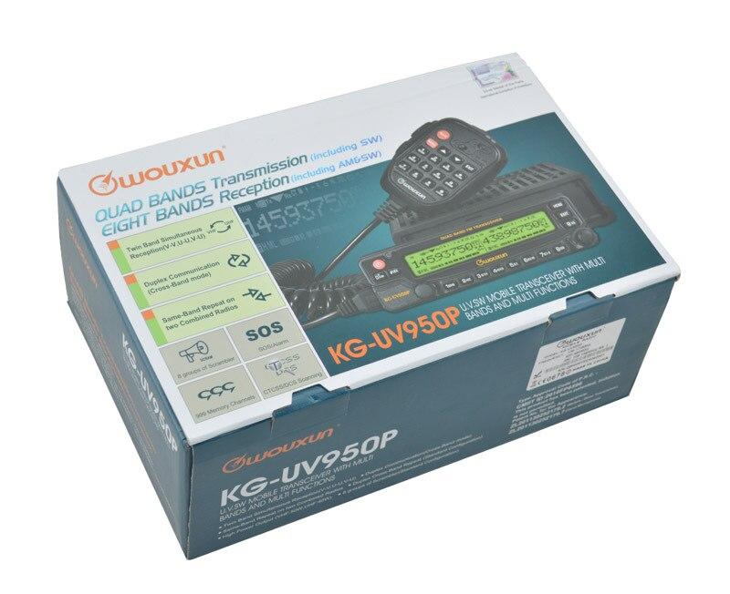 Wouxun émetteur-récepteur Radio CB Mobile KG-UV950P bande de Qual 10-20 km radio de portée de conversation pour voiture Max.50W cb station d'autoradio