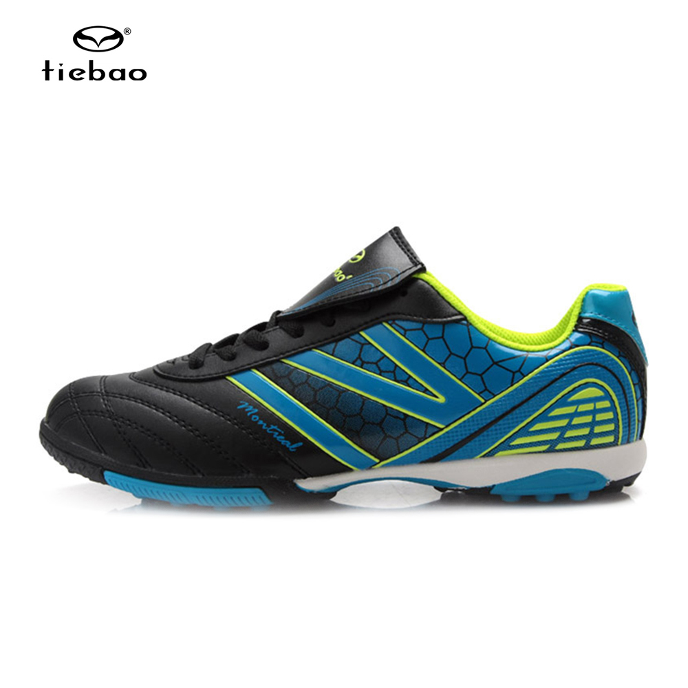 TIEBAO Professional New Brand Sneakers Children Shoes Kids Sports Shoes Boys and Girls Breathable Football Shoes hot new ultra light breathable children shoes boys and girls sports shoes running shoes outdoor walking shoes fly woven coconut
