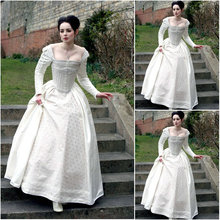 Freeshipping!Customer-made Luxs Vintage Costumes Victorian Dresses Scarlett Civil War dress Cosplay Lolita dresses US4-36 C-1074