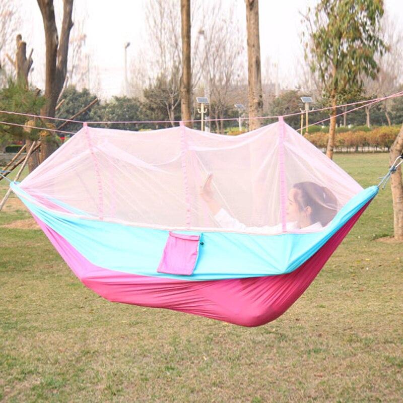 Portable Double Hammock Outdoor Travel Camping Hammock