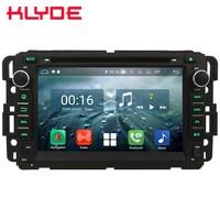 7 Octa Core 4G Android 8.1 4GB RAM 64GB ROM RDS Car DVD Multimedia Player Radio For GMC Yukon Sierra Tahoe Denali Acadia Savana