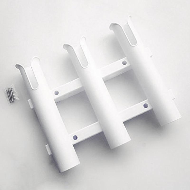 3 Holes Fishing Rod Holder 5.5cm Durable Organiser Pole Tube High Quality Mount Bracket Socket Rack Lure Pliers Storage