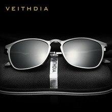 VEITHDIA Unisex Retro อลูมิเนียมแว่นตากันแดดแว่นตา Polarized แว่นตากันแดดแว่นตากันแดดแว่นตากันแดดผู้ชาย/ผู้หญิง 6630
