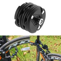 Wheel Up Bicycle Lock Anti theft Chain Lock Burger Lock Mountain Bike Fixed Folding Lock Bicycle Padlock 585*70*50mm
