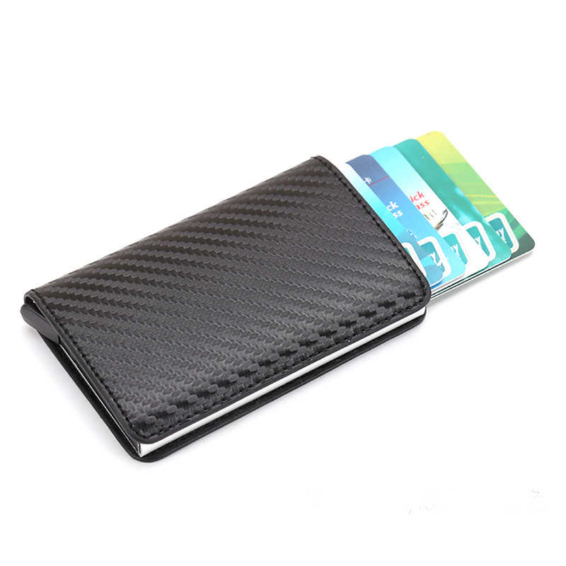 meilleur site web bac85 76c5a Antitheft Men Leather Credit Card Holder Blocking Rfid Pop ...