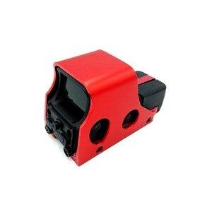 Image 4 - ยุทธวิธี 551 Holographic Sight Mini Reflex Red Dot Optics Sight ปืนไรเฟิลขอบเขตการล่าสัตว์ Airsoft 20 มม.Dropshipping
