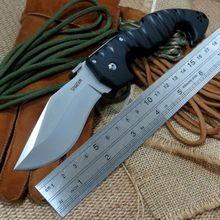 New EDC Hand Tool Camping Hunting Tactical Knife D2 Blade Utility Folding Knife Outdoor survival knife