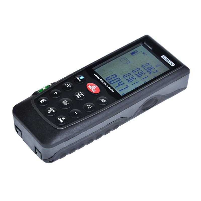 Mètre laser de mesure de distance de 70 M avec la fonction de mètre de distance de laser de bluetooth - 2