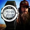 2016 Nuevos OTS Digital Relojes Deportivos hombres mujeres Paso Calorías Del Ritmo Cardíaco Del Pulso Del Pulsómetro Podómetro Impermeable reloj militar