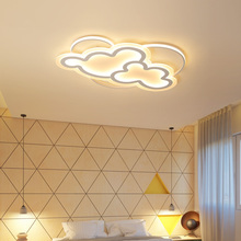 Led Ceiling Lamp with Remote Control Modern White Ceiling Light Round Living Room Kitchen Light Fixtures Indoor Lighting Ceiling