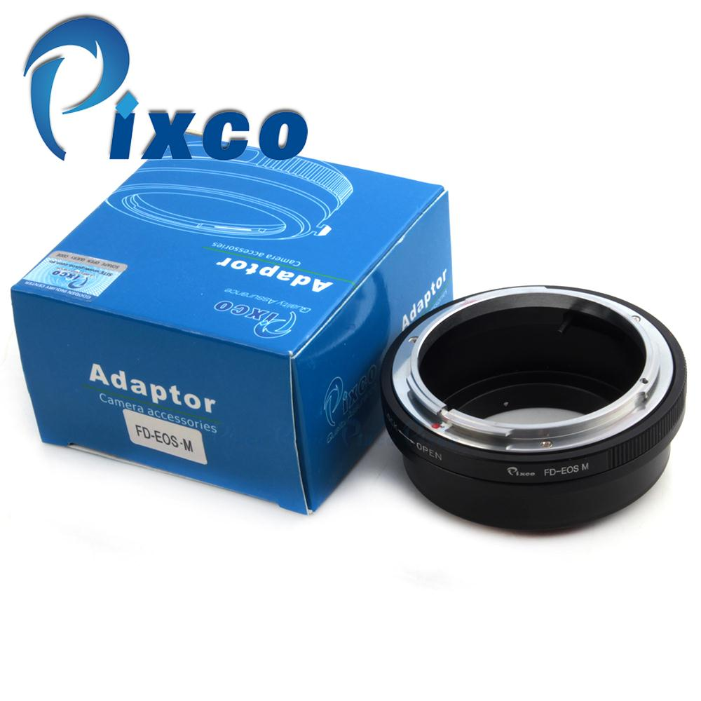 Pixco Lens adapter Suit for Canon FD Mount Lens to Canon EOS M, EOS M2 Camera