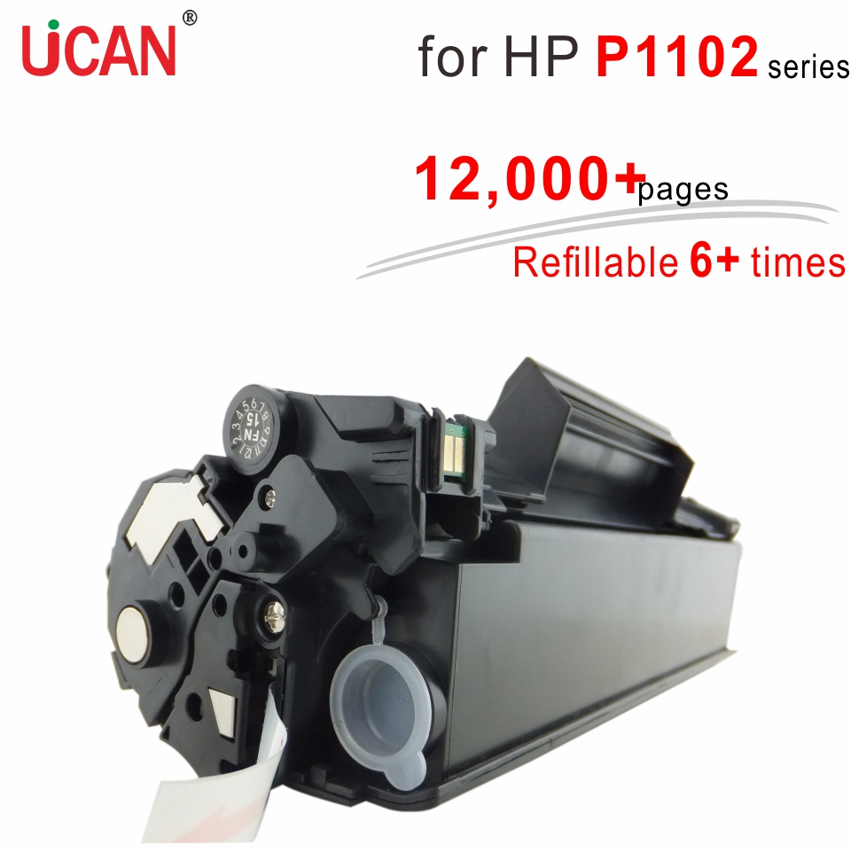 for hp laserjet P1102 P1102w P1100 P1106 P1106w P1109w Printer CE285a 285a 85a UCAN 12,000+ pages Super Durable Toner Cartridges for canon d570 printer cartridge 737 337 137 ucan 737ar kit 12 000 pages
