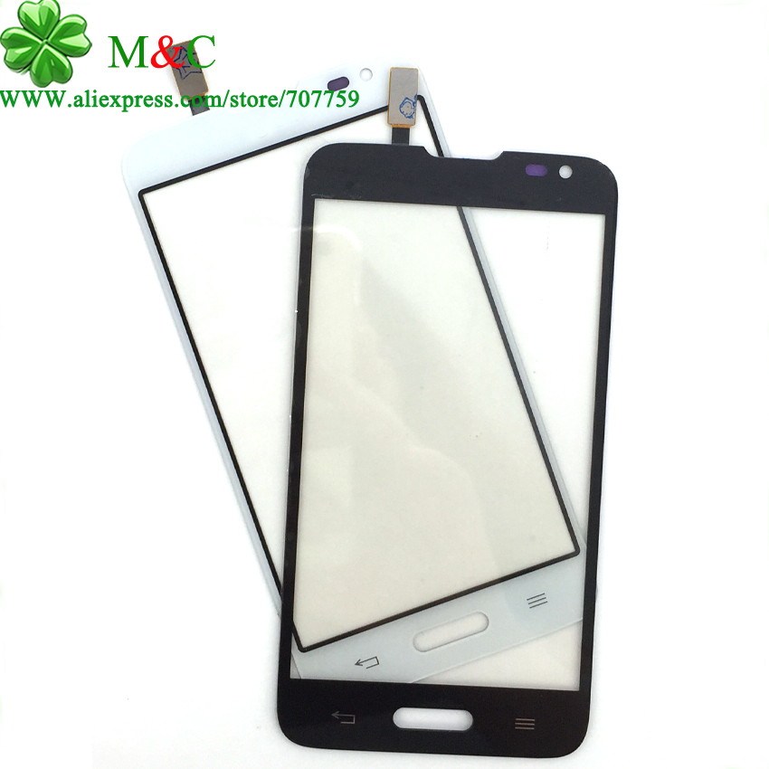 Shop707759 Store 50pcs D320 Touch Panel For LG Series III L70 D320 Touch Screen Digitizer Glass Lens (Single sim card) With Tracking