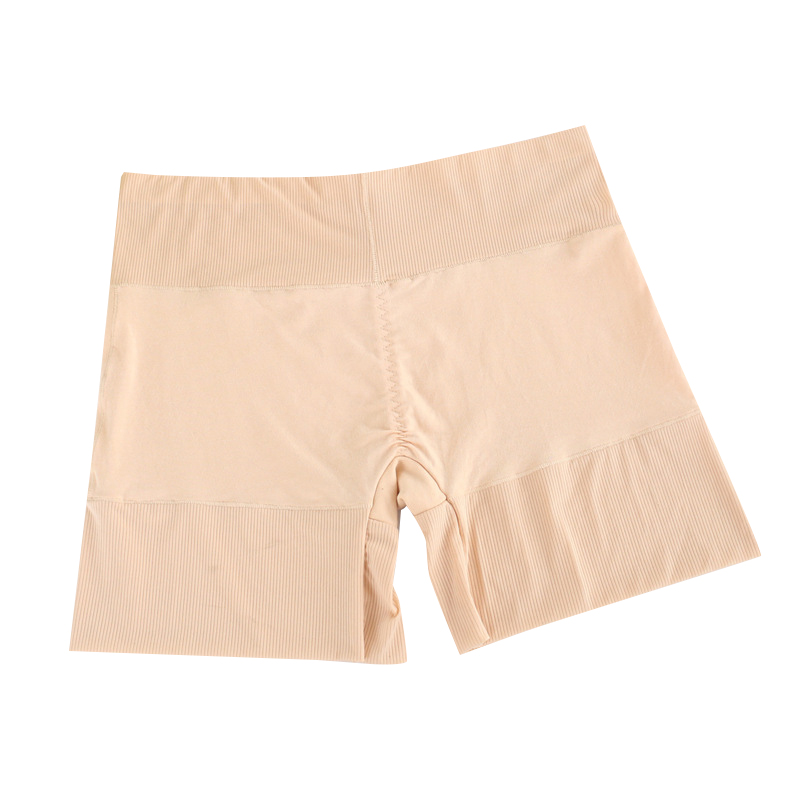 US Warehouse Safety Short Women Fashion Solid High Waist Elastic Boxer Pants Anti-Lighting Stretch Safety Shorts