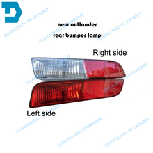 2013-2016 outlander rear bumper lamp airtrek rear fog lamp without bulb buy 2 piece if you need 1 pair