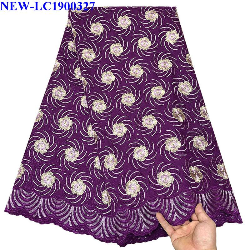 Nigerian Lace fabrics 2019 African Swiss Voile Lace High Quality Swiss Voile Lace Fabric in Switzerland