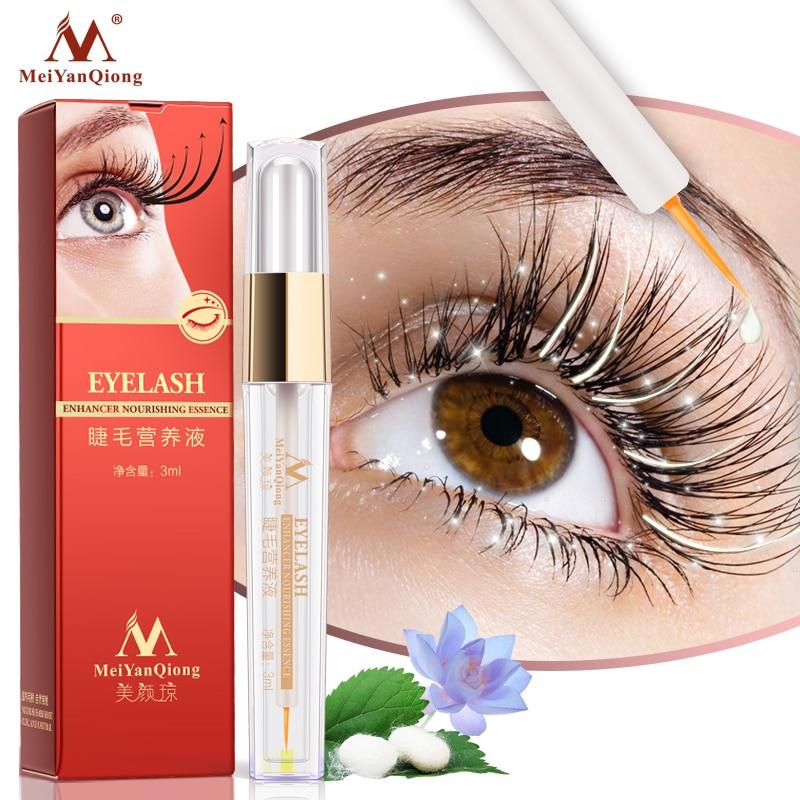Herbal Eyelash Growth Treatments Liquid Serum Enhancer Eye Lash Longer Thicker Better than Eyelash Extension Powerful Makeup