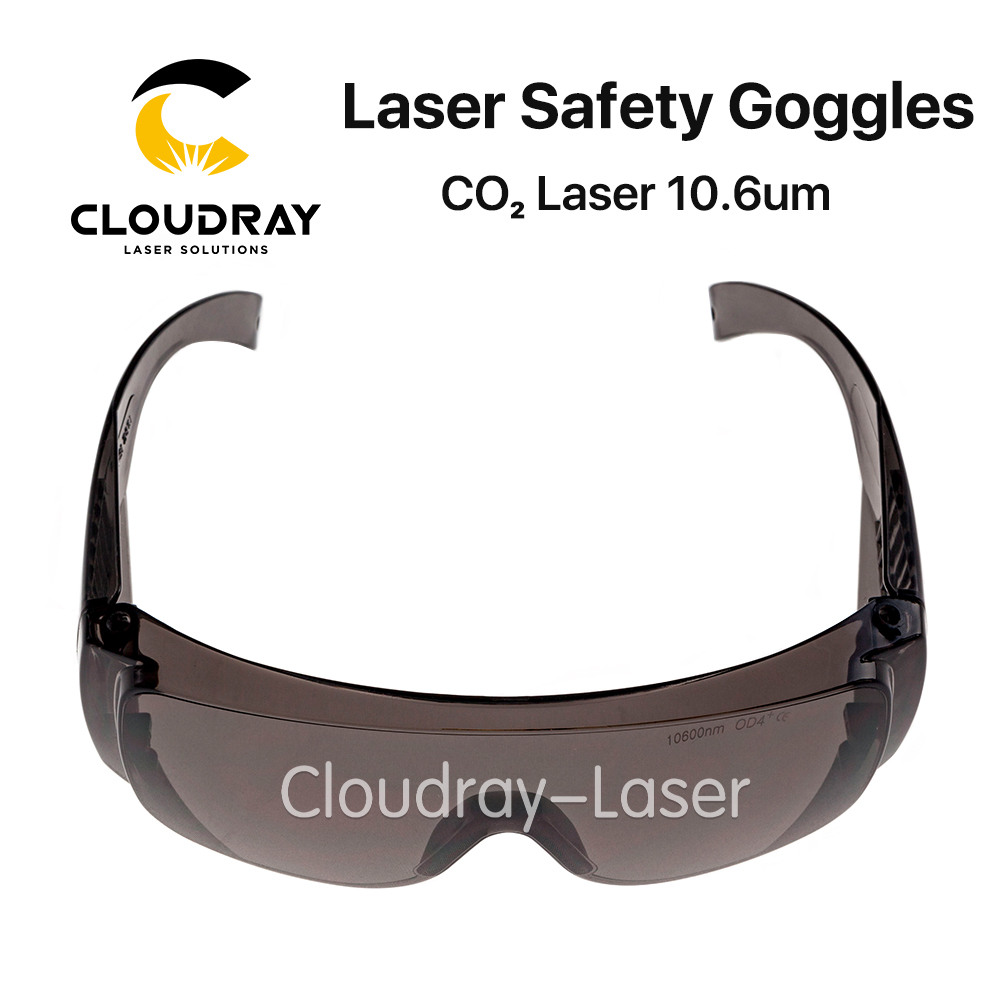Cloudray 10600nm Laser Safety Goggles Style B Shield Protection OD4+ CE For CO2 Laser Cutting Engraving Machine ep co2 protection laser goggles safety glasses eyewear for 10600nm co2 od5