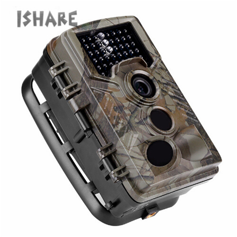 Outdoor Hunting Trail Camera 1080P HD Waterproof Camera IR LEDs 2.4 Scouting Night Vision Camera Wildlife Animal Photo Traps ltl acorn 5210a scouting hunting camera photo traps ir wildlife trail surveillance 940nm low glow 12mp
