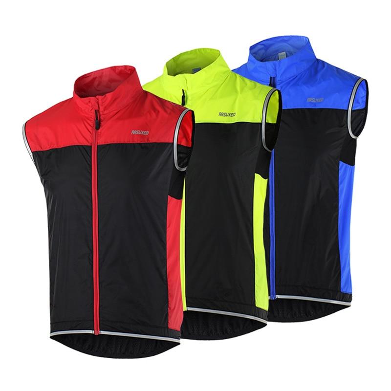 Men Women Ultra light Windproof Sleeveless Jacket Outdoor Cycling Sports font b Bike b font Bicycle