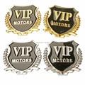 Car metal VIP sticker modified For lotus l5 Lifan x60 X50 520 530 620 630 720 JAC A13 RS A30 iEV S3 S5 RS M5 car styling emblem
