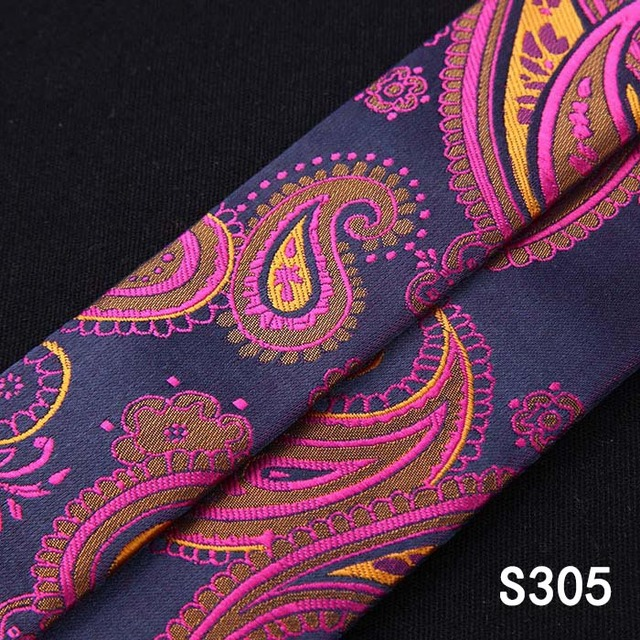 Suspender Bowtie & Pocket Square Set#S3 Floral Paisley Various Classic 6 Clips