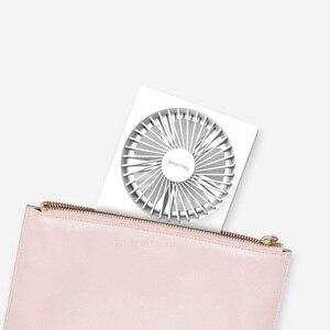 """Image 3 - Youpin Smartfrog Lade Folding USB Fan 4 """"Mini Fan Tragbare Fan Stumm Starken Winde für Sommer Wärme Home Büro"""