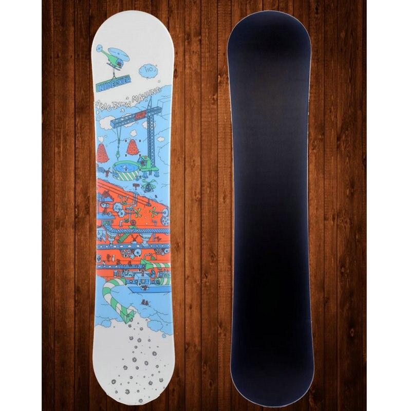 2017 Hiver ski conseil pont 1 pcs snowboard pont skis professionnel enfant unique conseil pont enfants 110 cm snowboard - 4