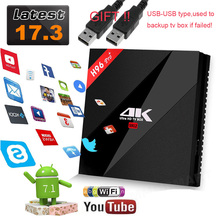 Original h96 pro plus 3GB 32GB/2G 16G Amlogic S912 H96 Pro+ Octa Core 2.4G/5GHz Wifi 4K BT 4.1 kodi 17.3 android 7.1 tv box