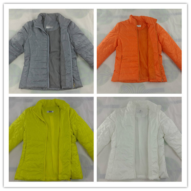 S-XXXL Thin Short Autumn winter jacket women Cotton bomber jacket womens winter jackets and coats colete feminino chaqueta 1438