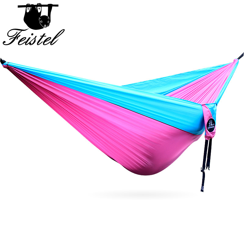 Outdoor Hammocks Garden Hammock Ultralight Portable Nylon Parachute Multifunctional Lightweight Hammocks