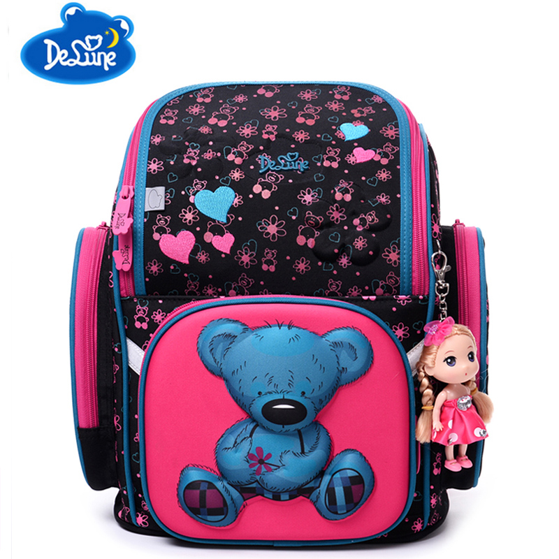 Age 6 12 Children School Bags For Ager S Book Bag Nylon Waterproof The
